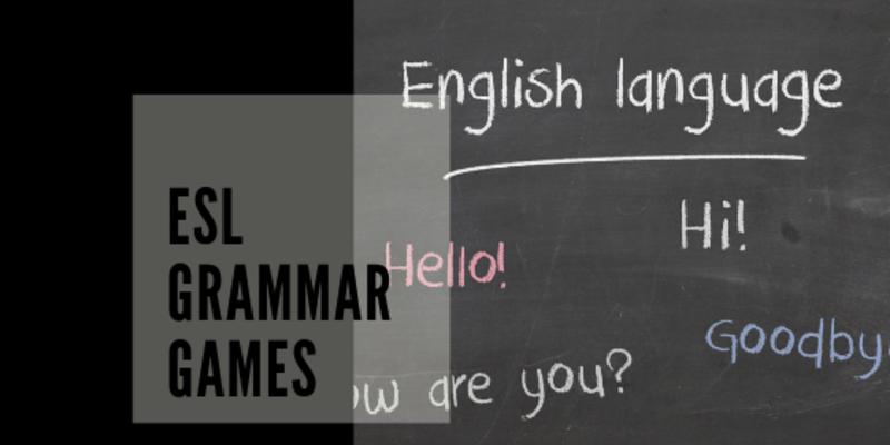 Word Practice: ESL Grammar Games